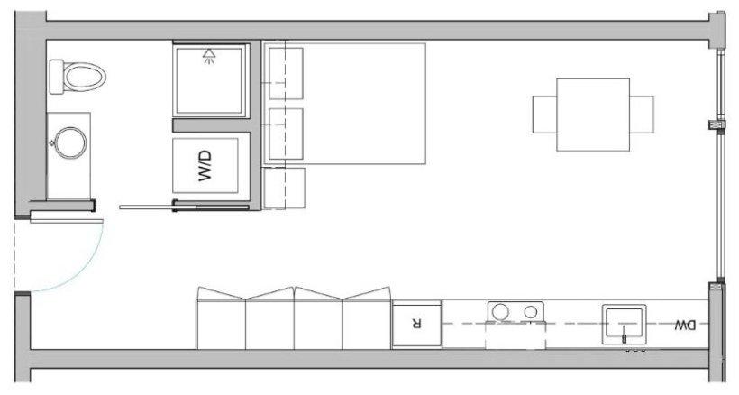 Studio 1 Bathroom Apartment for rent at Mio in Seattle, WA