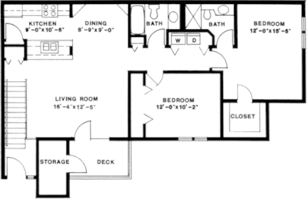 2 Bedrooms 2 Bathrooms Apartment for rent at Morningside On The Green in Madison, WI