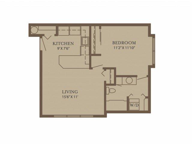 1 Bedroom 1 Bathroom Apartment for rent at North Glen Villas in Vancouver, WA