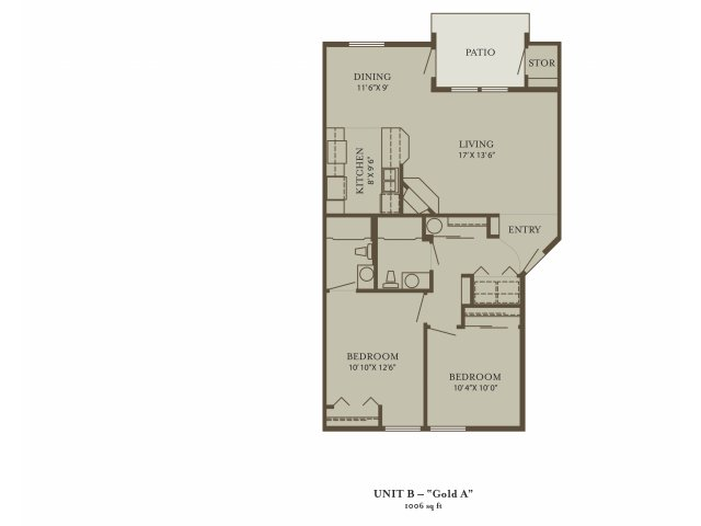 2 Bedrooms 2 Bathrooms Apartment for rent at The Grove At 72nd in Vancouver, WA