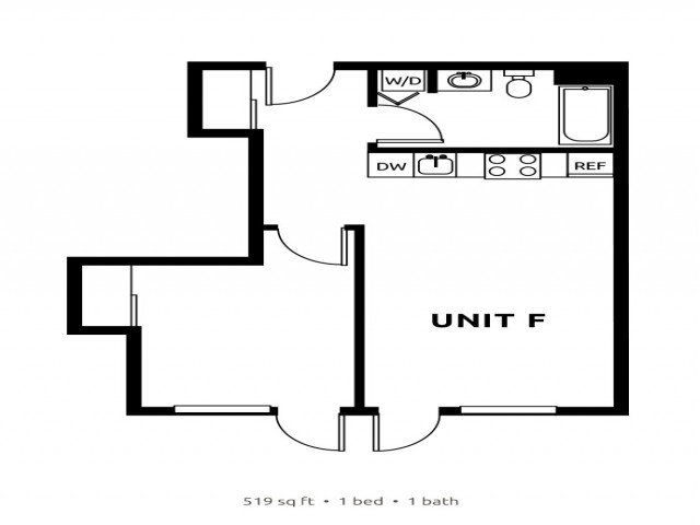 1 Bedroom 1 Bathroom Apartment for rent at Division Street Lofts in Portland, OR