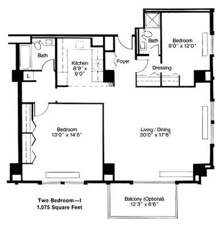 2 Bedrooms 2 Bathrooms Apartment for rent at Mansion House in St Louis, MO