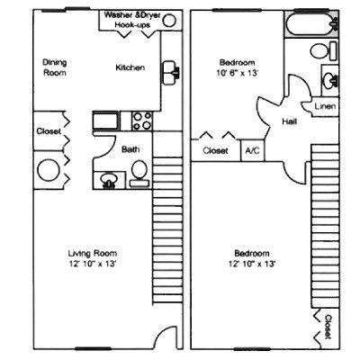2 Bedrooms 1 Bathroom Apartment for rent at Oak Glade Apartments in Gainesville, FL