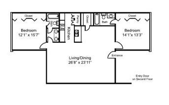 2 Bedrooms 2 Bathrooms Apartment for rent at The Citadel in Dallas, TX