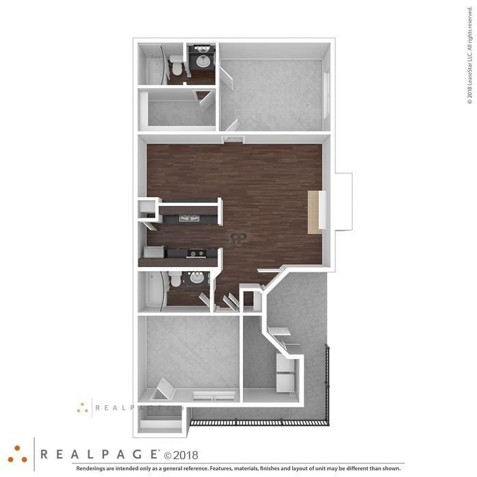 2 Bedrooms 2 Bathrooms Apartment for rent at 9500 Apartments in Austin, TX