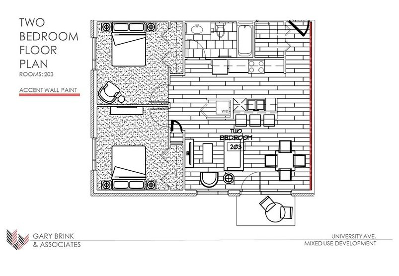 2 Bedrooms 2 Bathrooms Apartment for rent at 2505 University Ave in Madison, WI