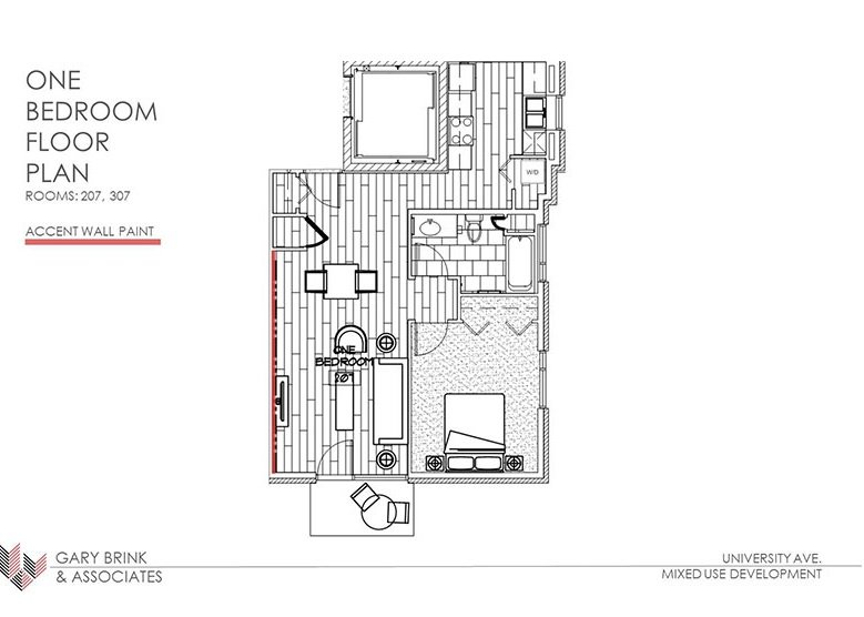 1 Bedroom 1 Bathroom Apartment for rent at 2505 University Ave in Madison, WI