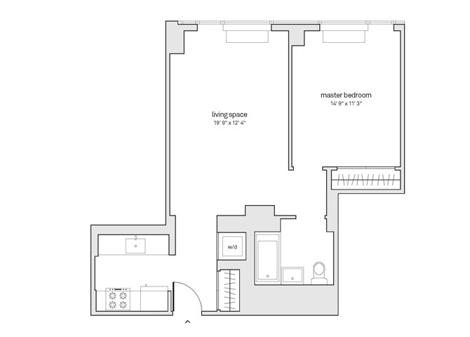 1 Bedroom 1 Bathroom Apartment for rent at HUB in Brooklyn, NY