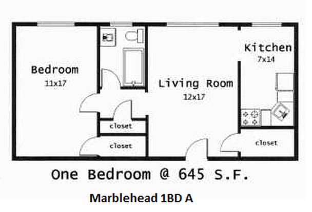 1 Bedroom 1 Bathroom Apartment for rent at Indy Flats in Indianapolis, IN
