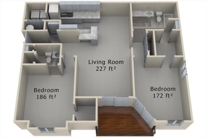2 Bedrooms 2 Bathrooms Apartment for rent at Torrey Pines in Omaha, NE