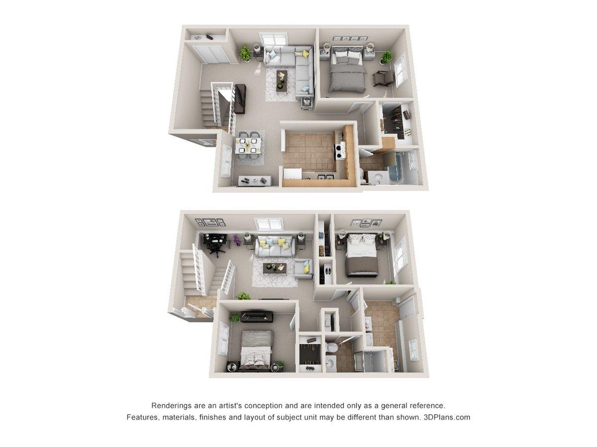 Westwood Duplexes Apartments Omaha, NE