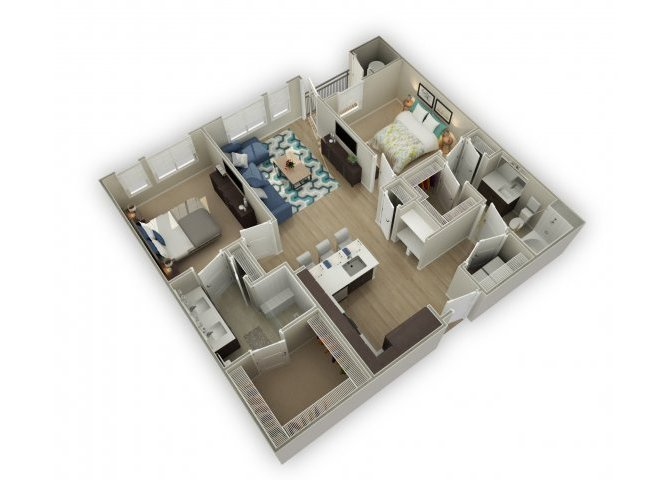 2 Bedrooms 2 Bathrooms Apartment for rent at Broadstone On Ninth (9th) in Denver, CO