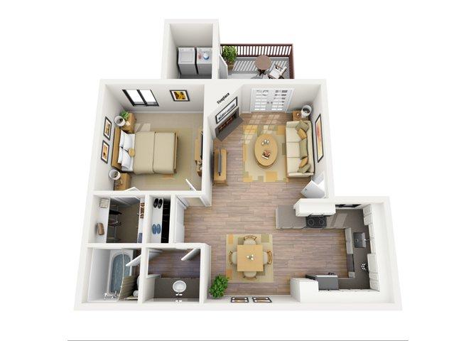 1 Bedroom 1 Bathroom Apartment for rent at Del Sol in Scottsdale, AZ