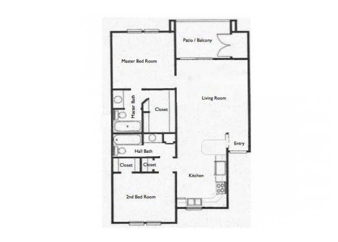 2 Bedrooms 2 Bathrooms Apartment for rent at Stone Chase in San Antonio, TX