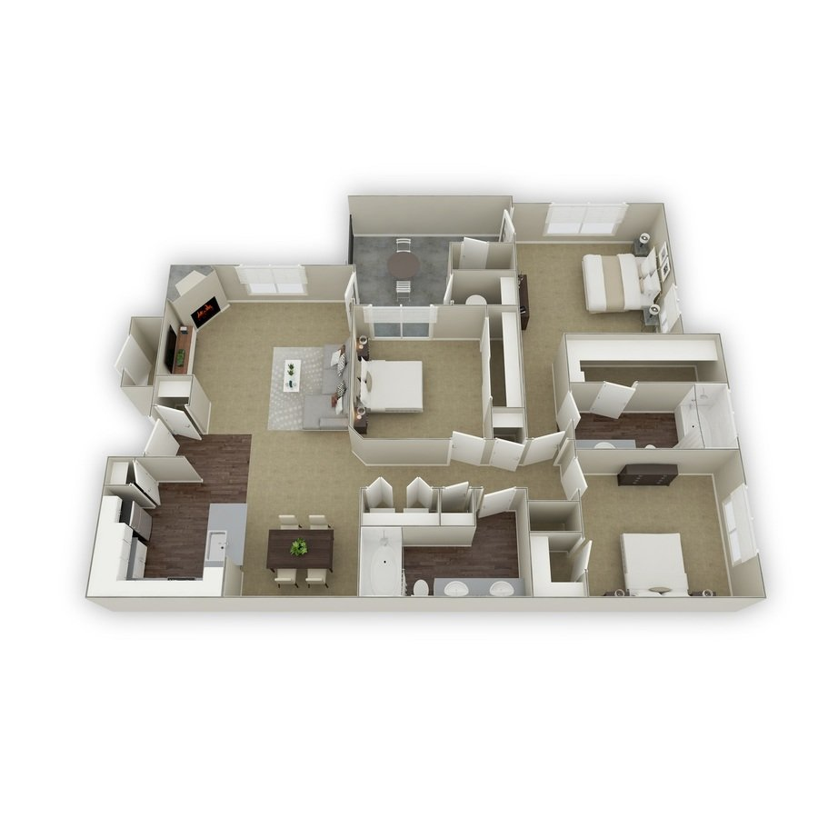 3 Bedrooms 2 Bathrooms Apartment for rent at Mountain Gate in Littleton, CO