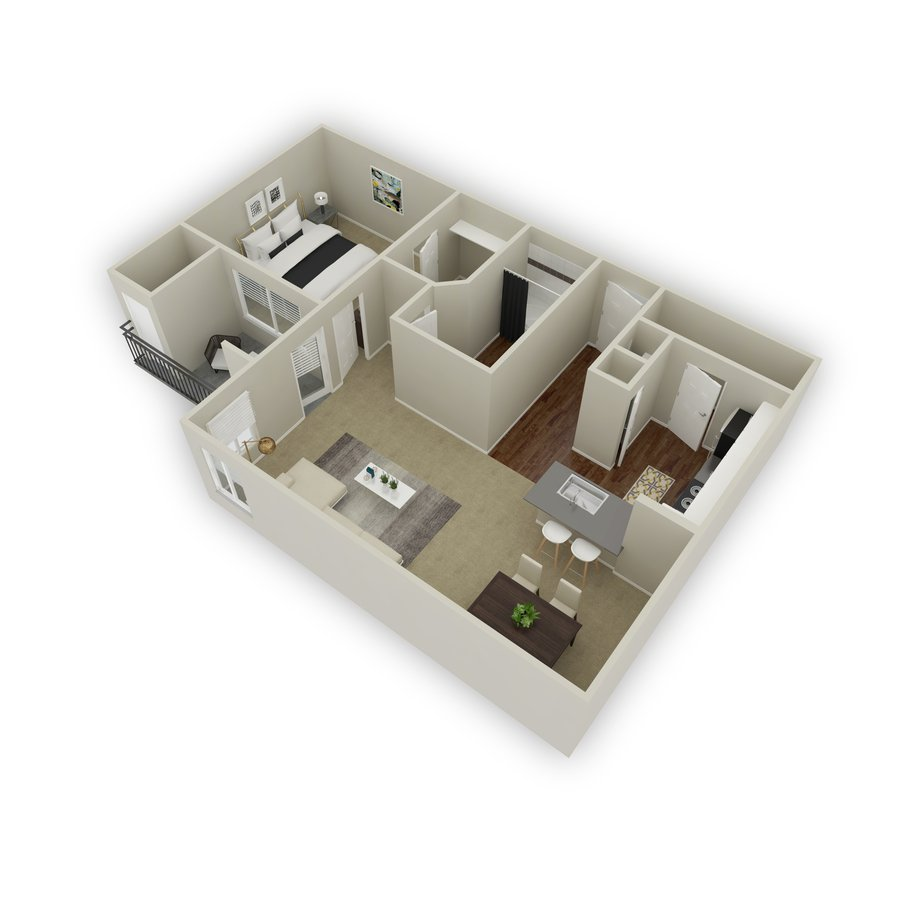 1 Bedroom 1 Bathroom Apartment for rent at Viridian in Greenwood Village, CO