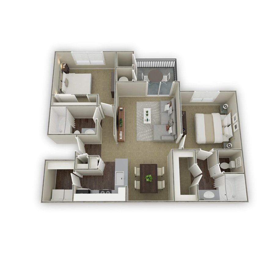 2 Bedrooms 2 Bathrooms Apartment for rent at Mountain Gate in Littleton, CO