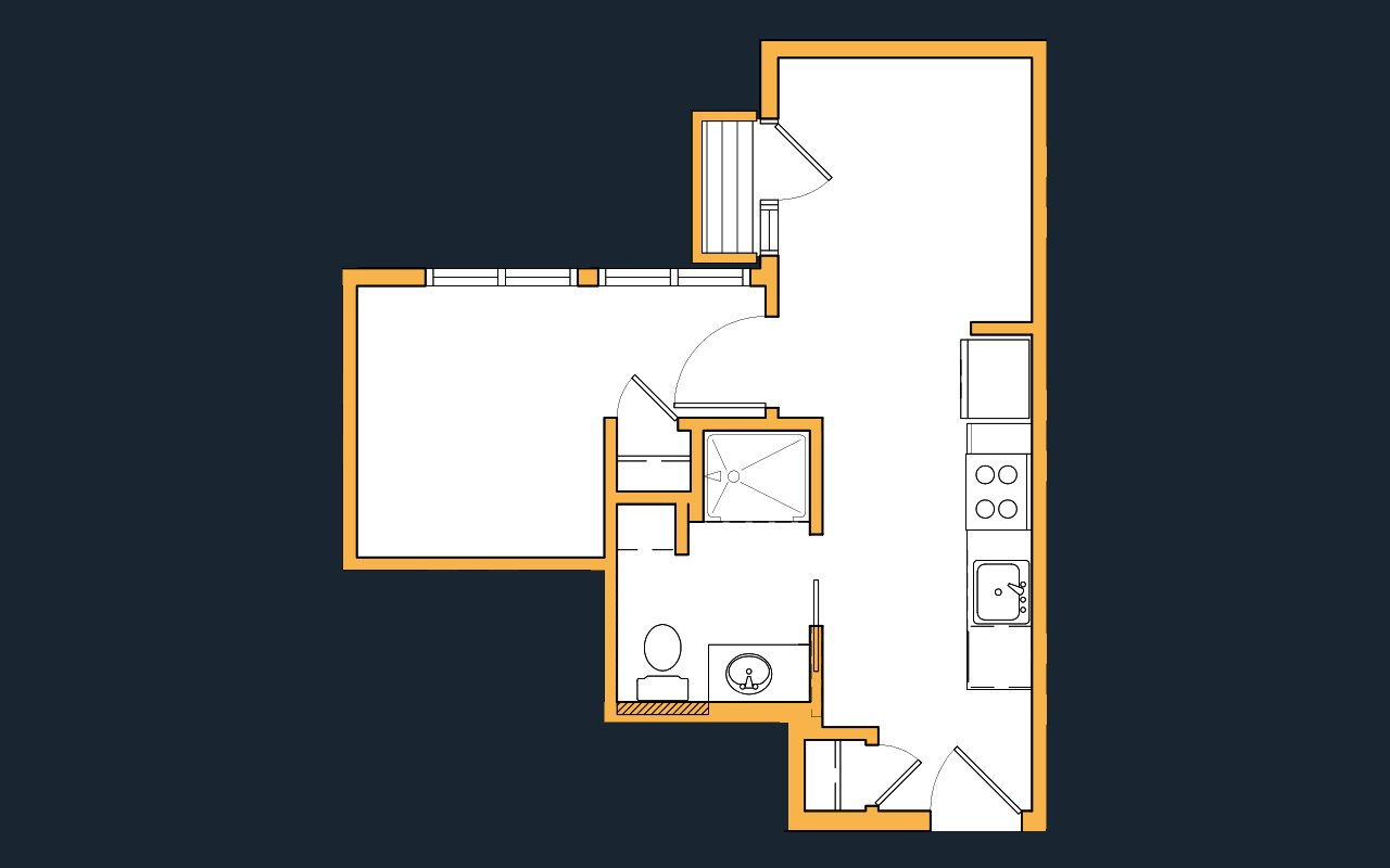 1 Bedroom 1 Bathroom Apartment for rent at Savanna Apartments in Seattle, WA