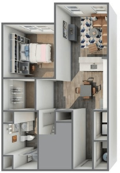 5 Bedrooms 4+ Bathrooms Apartment for rent at Haven 49 in Charlotte, NC