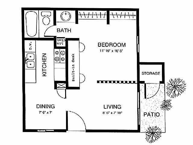 Studio 1 Bathroom Apartment for rent at Chase Hills in San Antonio, TX