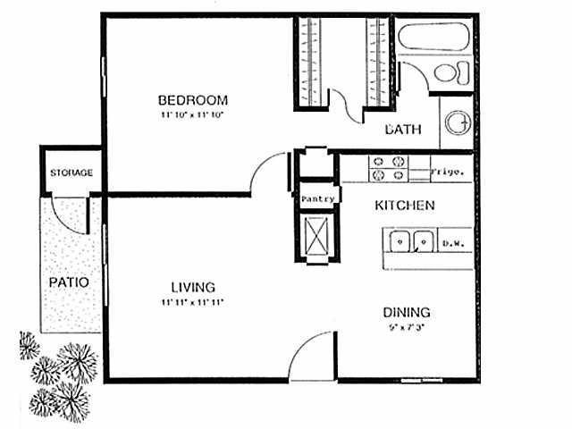 1 Bedroom 1 Bathroom Apartment for rent at Chase Hills in San Antonio, TX
