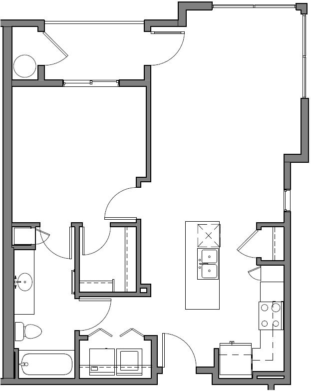 1 Bedroom 1 Bathroom Apartment for rent at View 32 in Phoenix, AZ