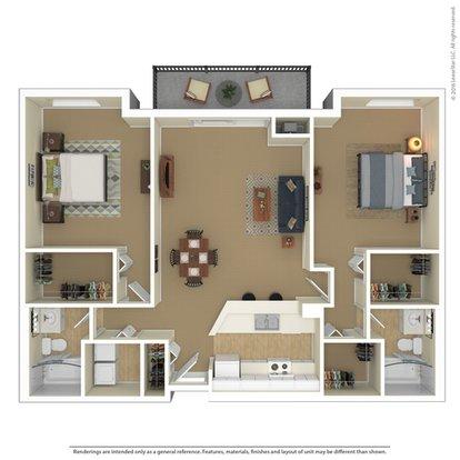 2 Bedrooms 2 Bathrooms Apartment for rent at Laurel Village in Minneapolis, MN