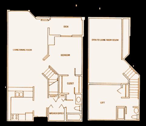 1 Bedroom 2 Bathrooms Apartment for rent at Laurel Village in Minneapolis, MN