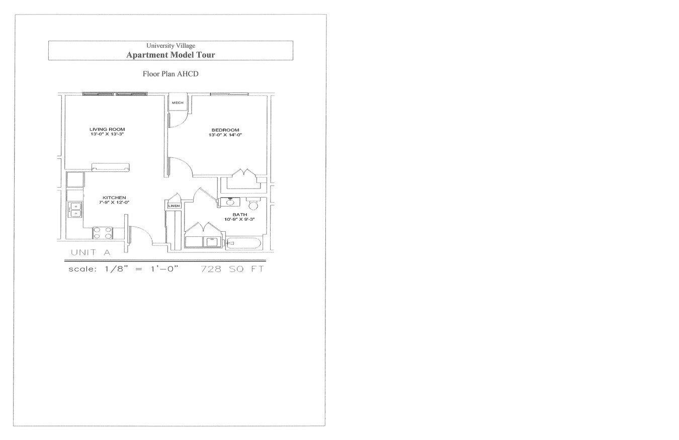 1 Bedroom 1 Bathroom Apartment for rent at University Village in Minneapolis, MN