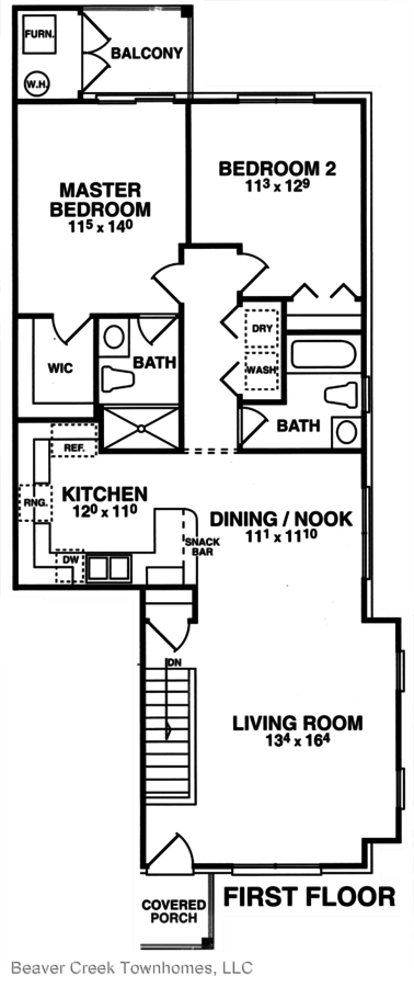 2 Bedrooms 2 Bathrooms Apartment for rent at Bebernick Lane in Sterling Heights, MI
