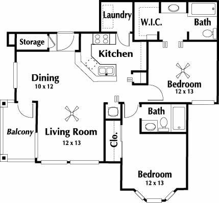 2 Bedrooms 2 Bathrooms Apartment for rent at The Reserve At Kanapaha in Gainesville, FL