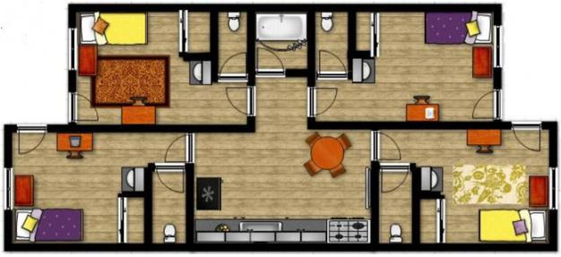 4 Bedrooms 3 Bathrooms Apartment for rent at Aldersgate in Eugene,