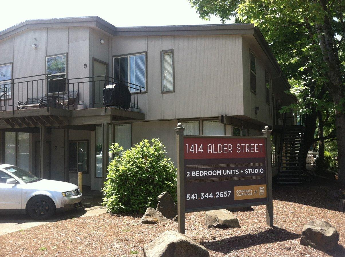 Studio 1 Bathroom Apartment for rent at 1414 Alder St in Eugene, OR