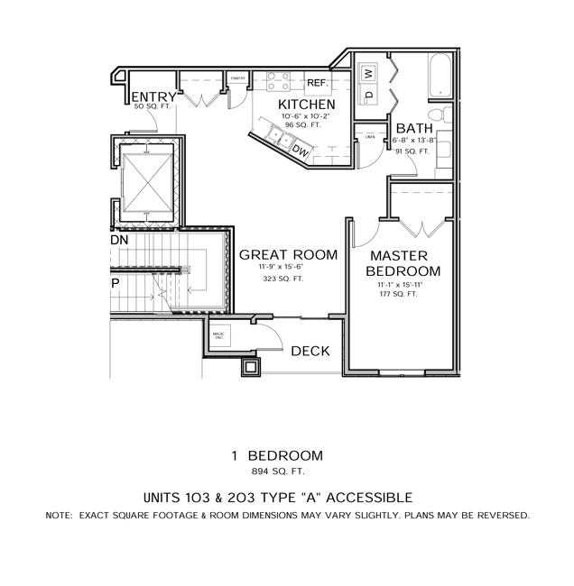 1 Bedroom 1 Bathroom Apartment for rent at Prairie Stone Commons in Madison, WI
