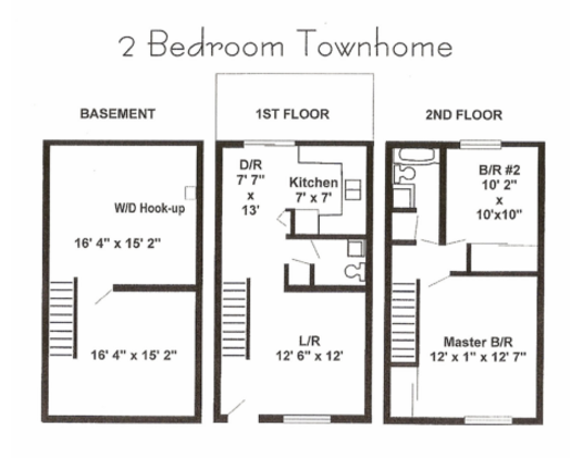 2 Bedrooms 1 Bathroom Apartment for rent at St. Andrews Apartments in St Charles, MO
