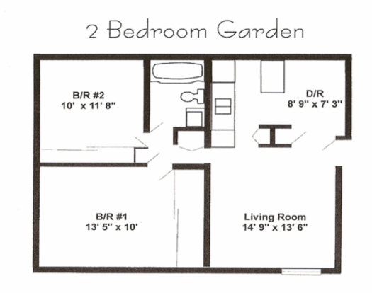 2 Bedrooms 2 Bathrooms Apartment for rent at St. Andrews Apartments in St Charles, MO