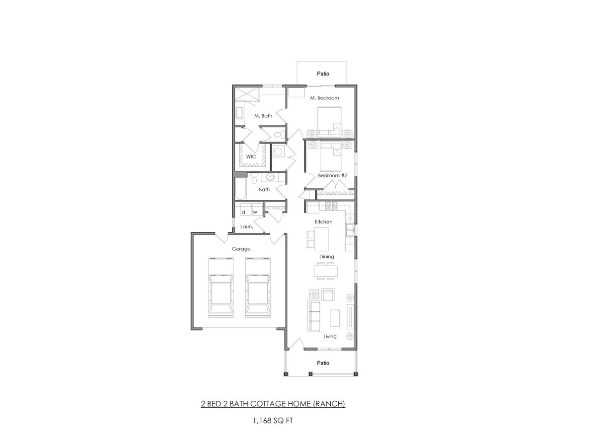2 Bedrooms 2 Bathrooms Apartment for rent at Willoughby Estates in Holt, MI