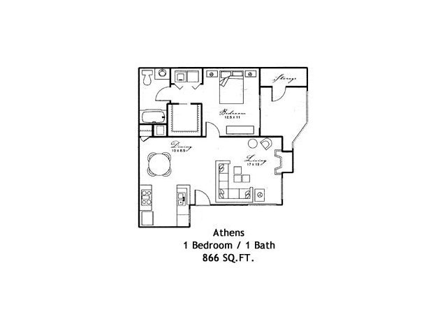 1 Bedroom 1 Bathroom Apartment for rent at Shaliko in Rocklin, CA