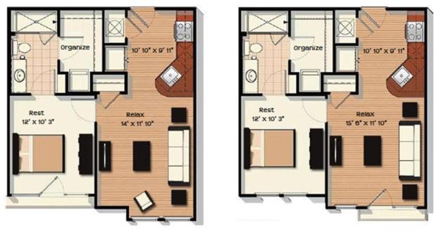 Studio 1 Bathroom Apartment for rent at Chapel Hill North Apartments in Chapel Hill, NC