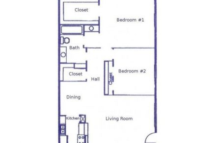 2 Bedrooms 1 Bathroom Apartment for rent at Woodhollow Apartments in Huntsville, TX