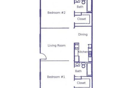 2 Bedrooms 2 Bathrooms Apartment for rent at Woodhollow Apartments in Huntsville, TX