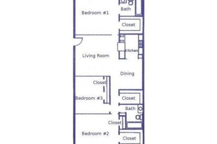 3 Bedrooms 2 Bathrooms Apartment for rent at Woodhollow Apartments in Huntsville, TX