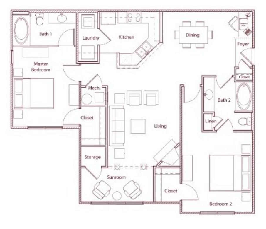 2 Bedrooms 2 Bathrooms Apartment for rent at Stonegate in Birmingham, AL
