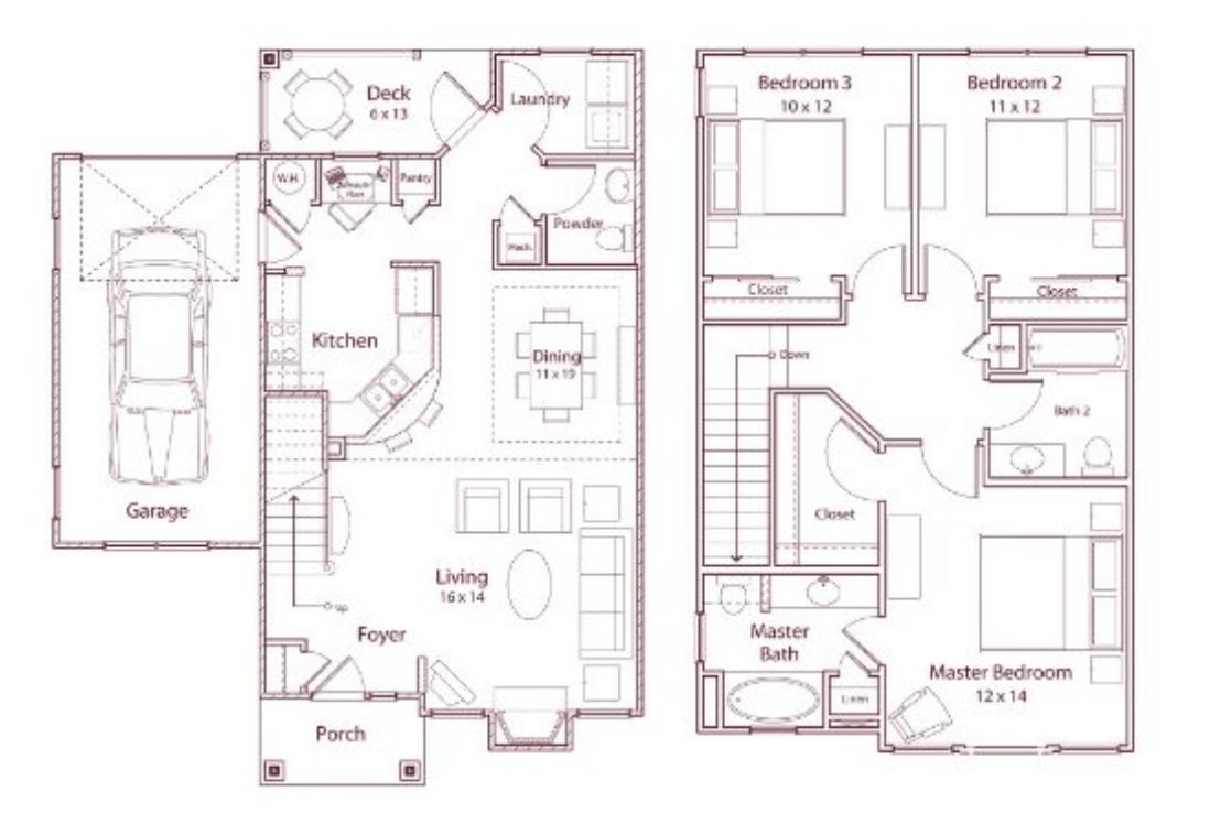 3 Bedrooms 2 Bathrooms Apartment for rent at Stonegate in Birmingham, AL