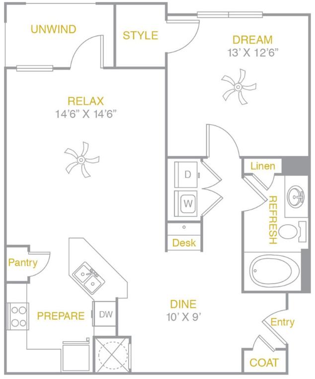 1 Bedroom 1 Bathroom Apartment for rent at Arium Lakeshore in Birmingham, AL