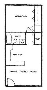 1 Bedroom 1 Bathroom Apartment for rent at Pointe Apartments in Birmingham, AL