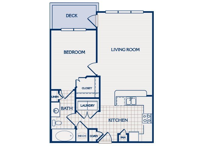 1 Bedroom 1 Bathroom Apartment for rent at Parc At Grandview in Birmingham, AL