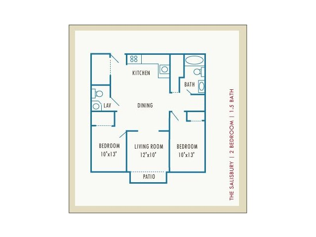 2 Bedrooms 1 Bathroom Apartment for rent at Princeton Place in Worcester, MA