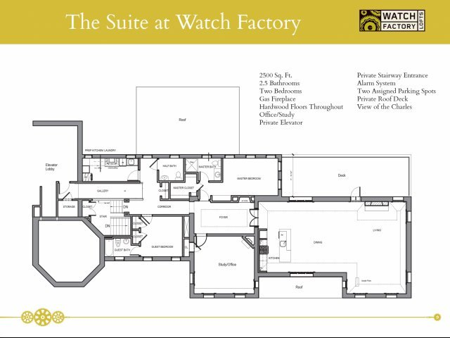 2 Bedrooms 2 Bathrooms Apartment for rent at Watch Factory Lofts in Waltham, MA
