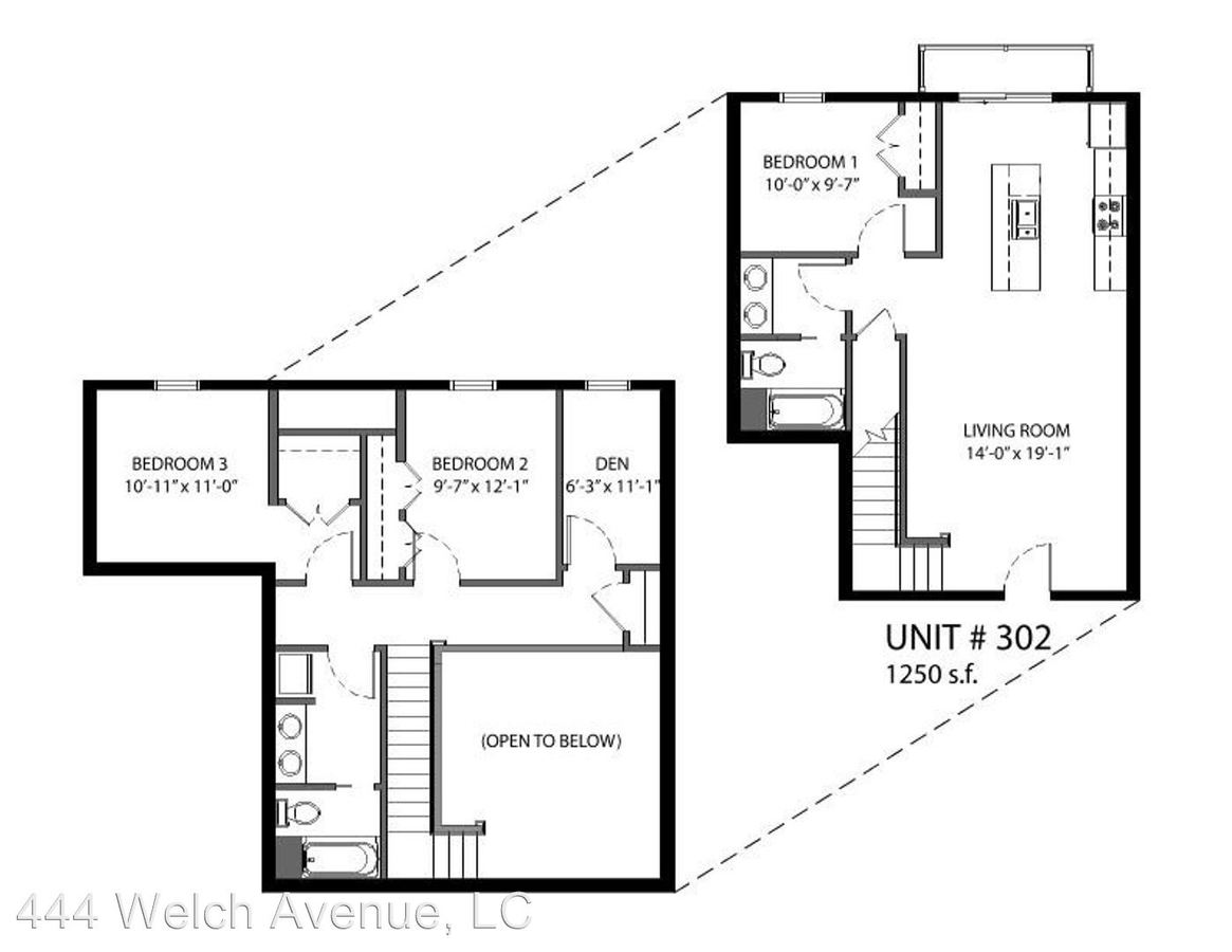 3 Bedrooms 2 Bathrooms Apartment for rent at 444 Welch Avenue in Ames, IA